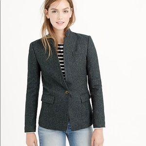 J. Crew regent blazer in donegal wool